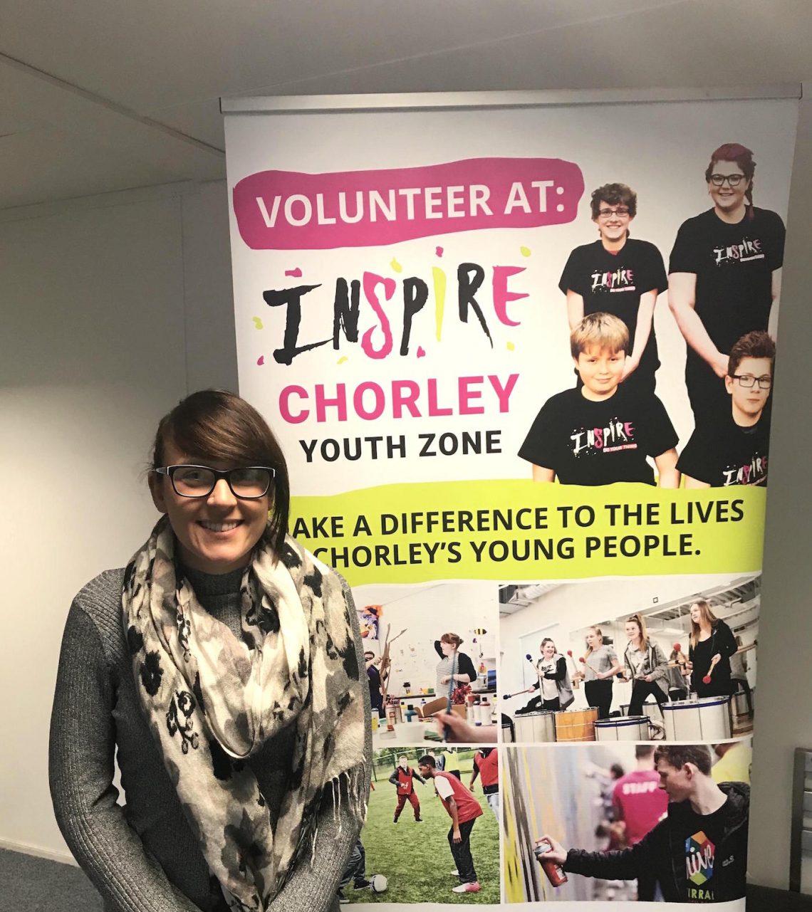 Chorley Inspire Youth Zone Volunteer