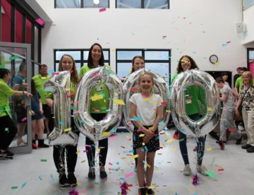 Inspire Youth Zone 1000th member