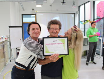 Inspire Youth Zone Volunteer Of The Month