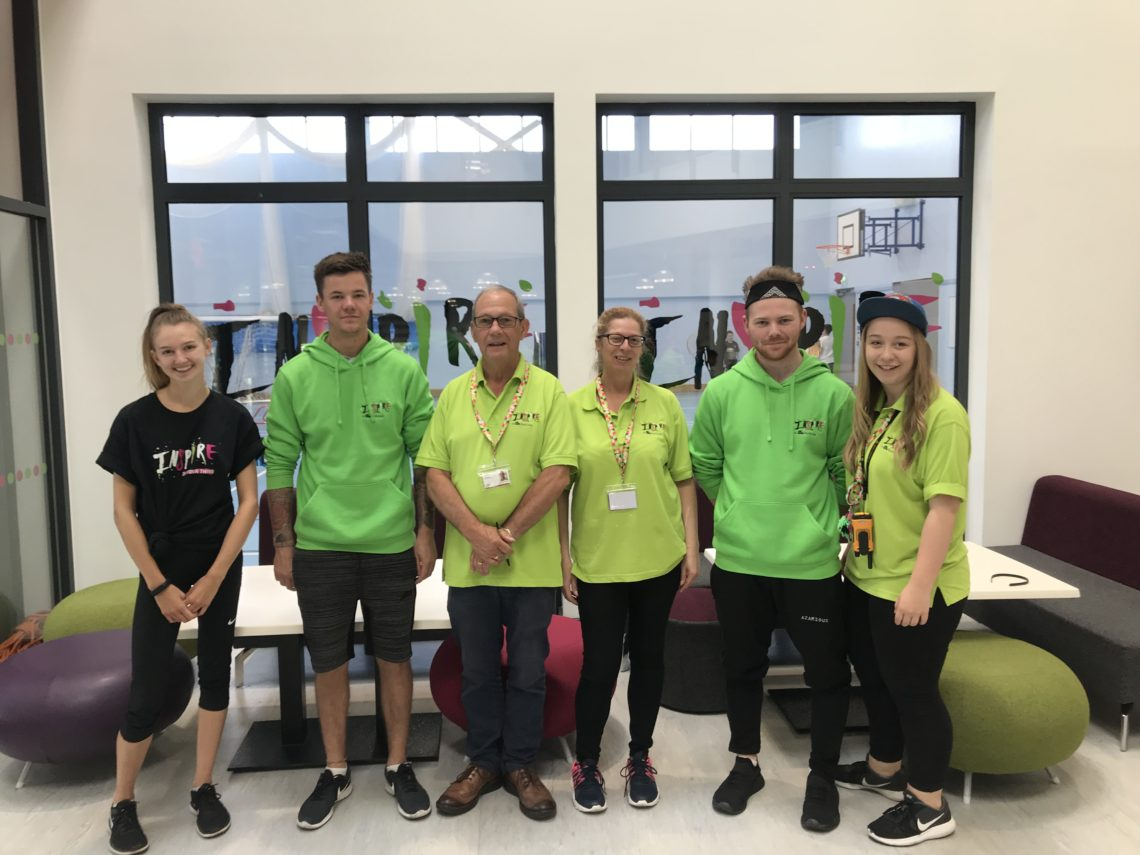 Inspire Youth Zone Volunteers