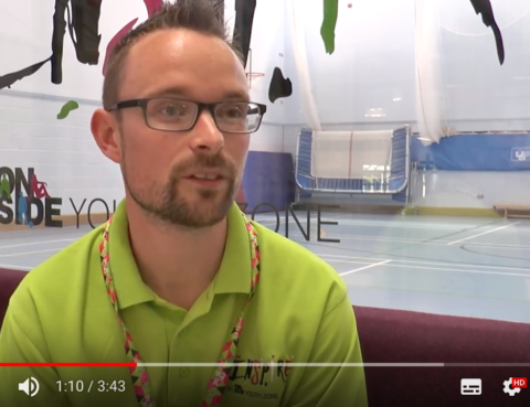 Inspire Youth Zone That's Lancashire TV Interview
