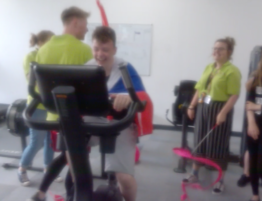 Youth Zone member Alfie is inspired to get active